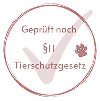 Zertrifiziert nch §11 TierAschutzgesetz